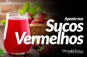 Aposte nos Sucos Vermelhos para Melhorar sua Saúde