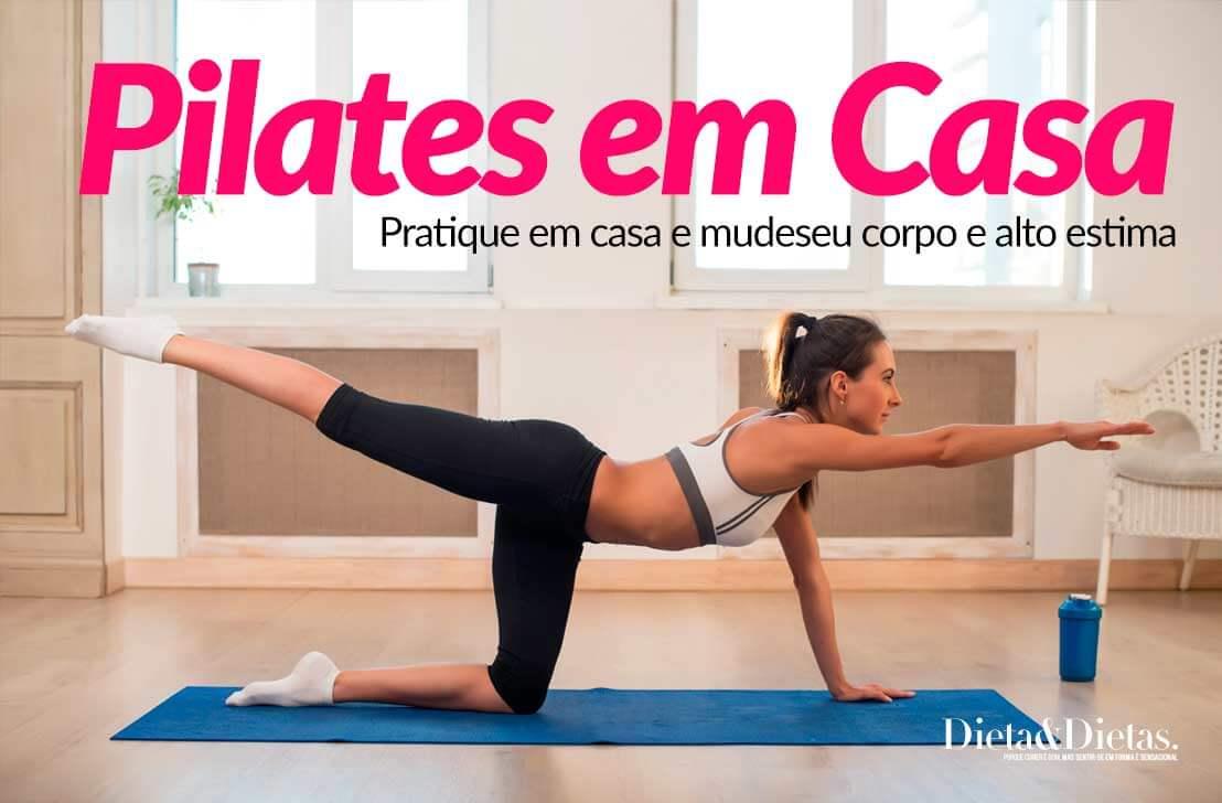 pratique pilates em casa