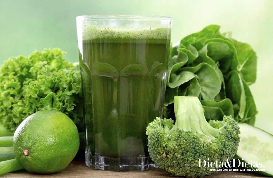 Suco Detox para acelerar o metabolismo