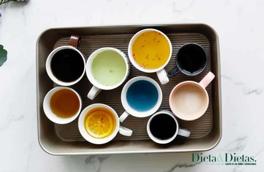 7 Chás que emagrecem e eliminam toxinas co corpo
