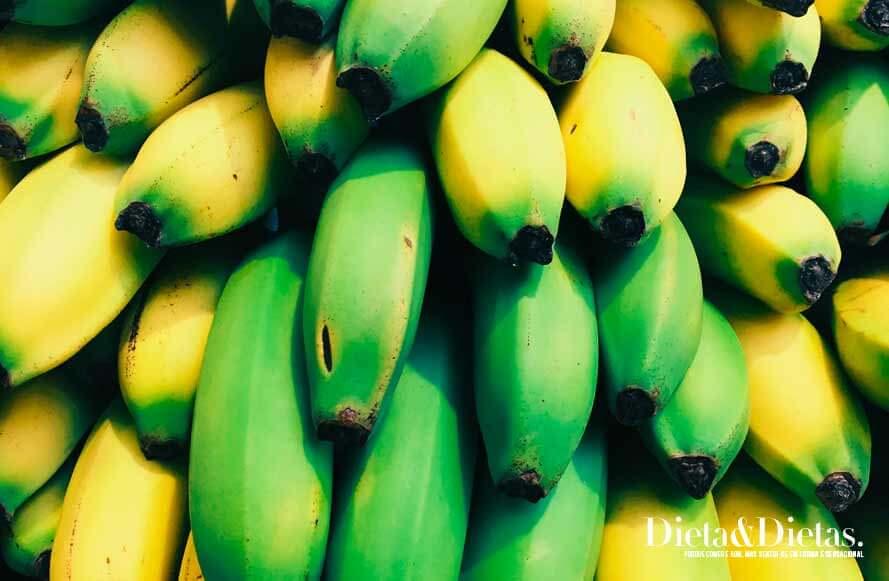 Banana verde ou banana madura, qual devo escolher