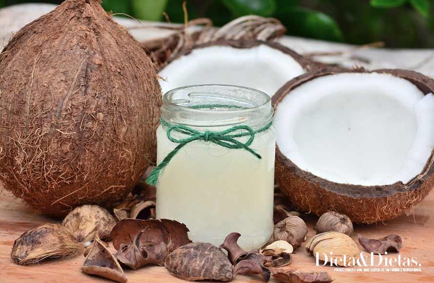 Óleo de coco e seus benefícios para a saúde