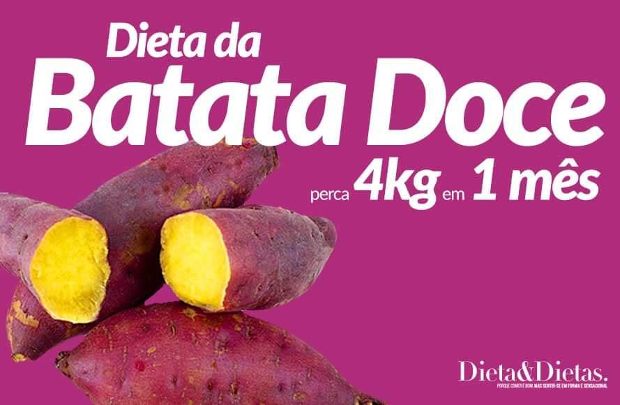 Dieta da Batata Doce, Perca 4Kg em 1 Mês