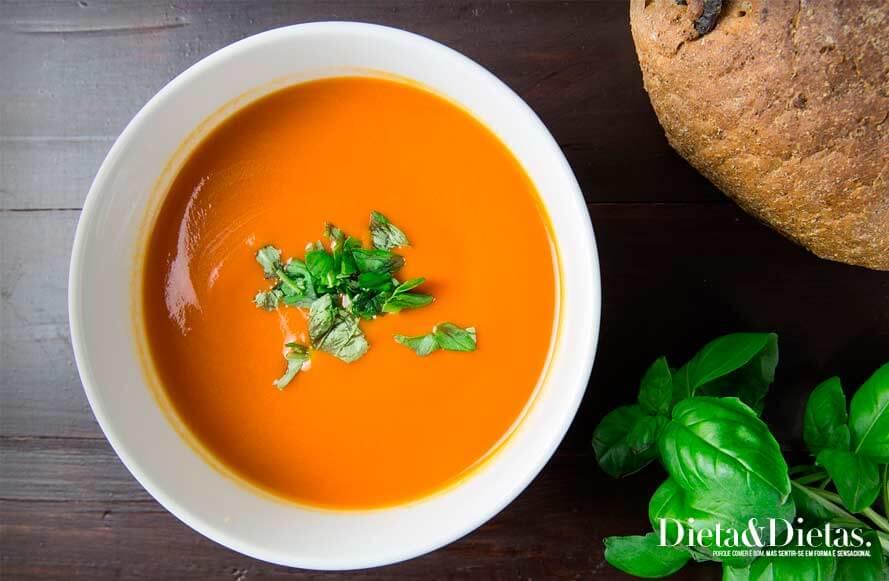 você não pode deixar a Sopa Detox de fora de sua dieta