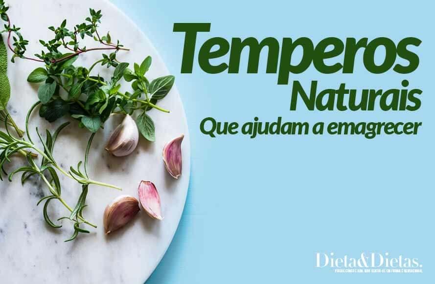Temperos Naturais que Ajudam a Emagrecer