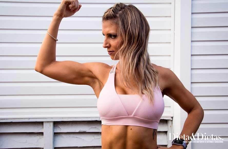 Musculação + alimentação