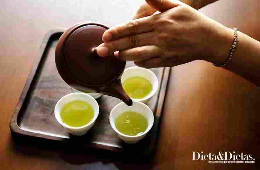 Chá detox de hortelã