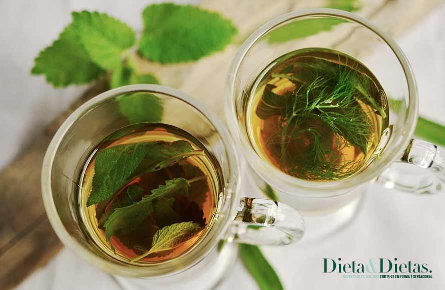 Perca até 6Kg em 1 mês com esta dieta do chá