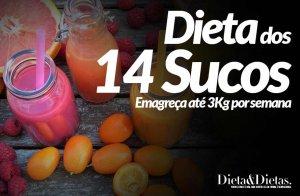 Dieta do Suco Emagreça até 3Kg por semana
