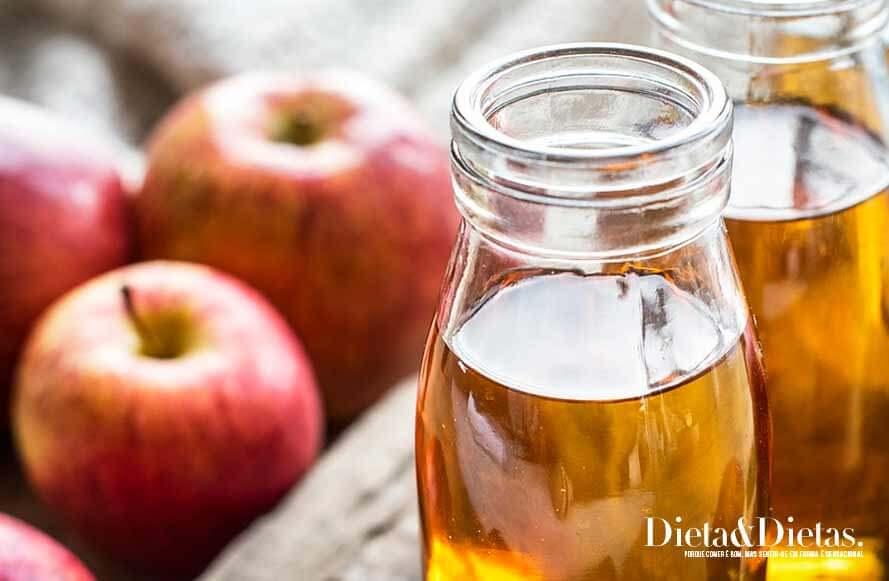Posso trocar o Vinagre de maçã por fatias de maçã?