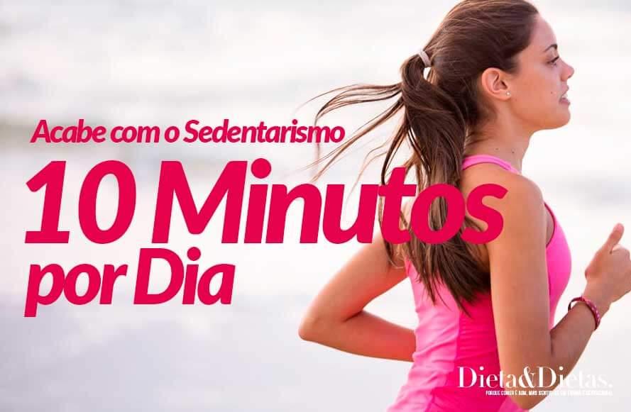 10 minutos de Exercícios Físicos Podem te Livrar do Sedentarismo