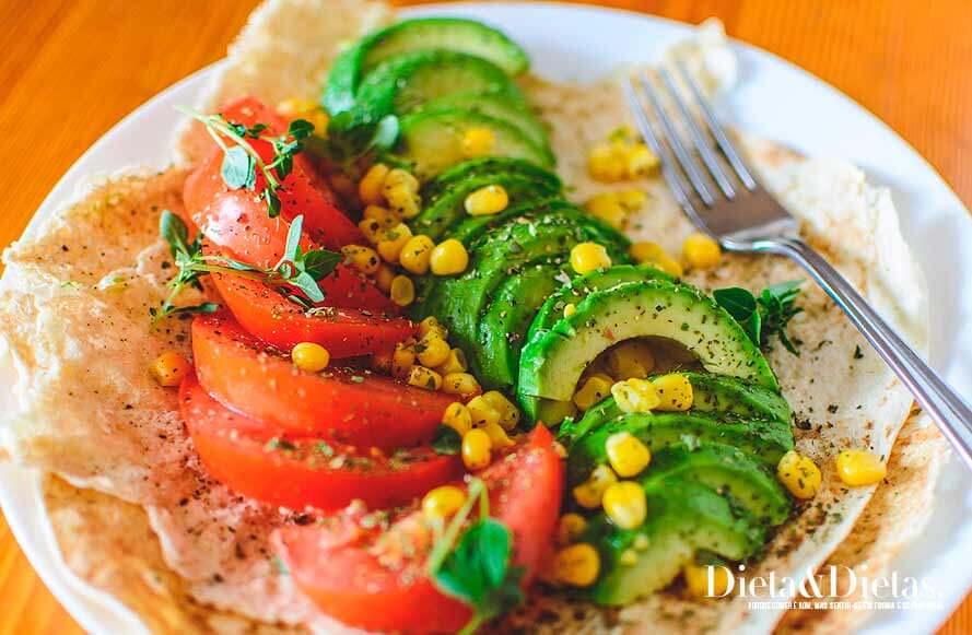 salada para a Dieta Macrobiótica