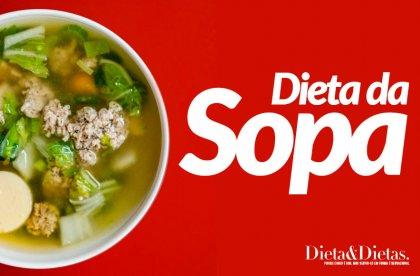 Dieta da Sopa, Emagreça Rápido com esta Dieta Cheia de Sabores