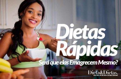 Dietas Rápidas, Será que elas Emagrecem Mesmo? Mitos e Verdades