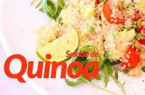 Receita de Salada de Quinoa (quinua)