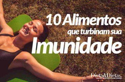 10 Alimentos para Turbinam o Sistema Imunológico e Aumentar a Imunidade