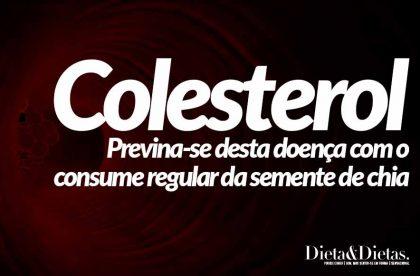 Colesterol Alto, Infarto e Outras Doenças, Podem ser Prevenidas com Semente de Chia
