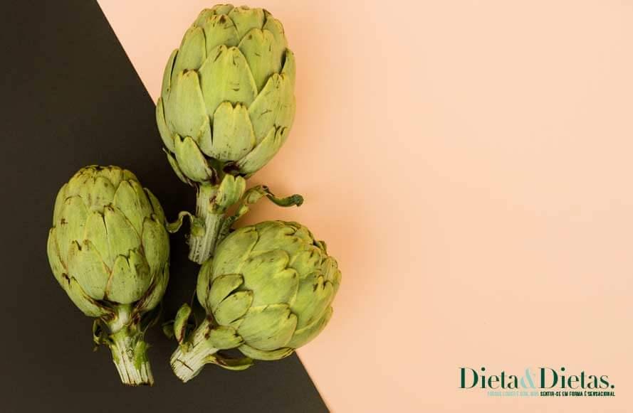Menus que você pode desfrutar na dieta da alcachofra