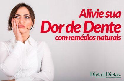 Remédios Naturais para Aliviar a Dor nos Dentes