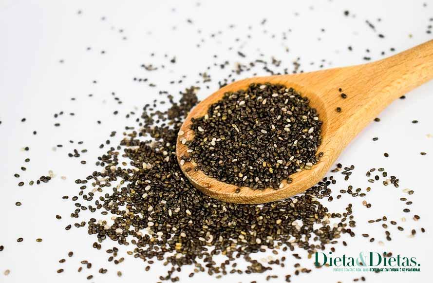 Consuma a semente de chia a qualquer hora