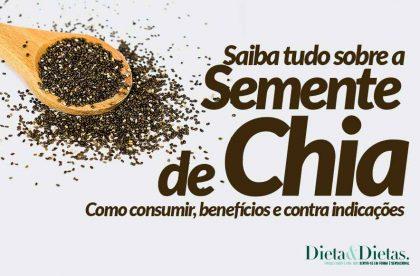 Semente de Chia, Benefícios, Como Consumir, Como Usar, Qual a Quantidade e com que Alimentos