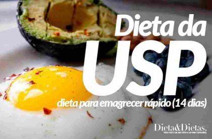 Dieta da USP Original, Como Funciona, Cardápio Completo, Vantagens e Desvantagens