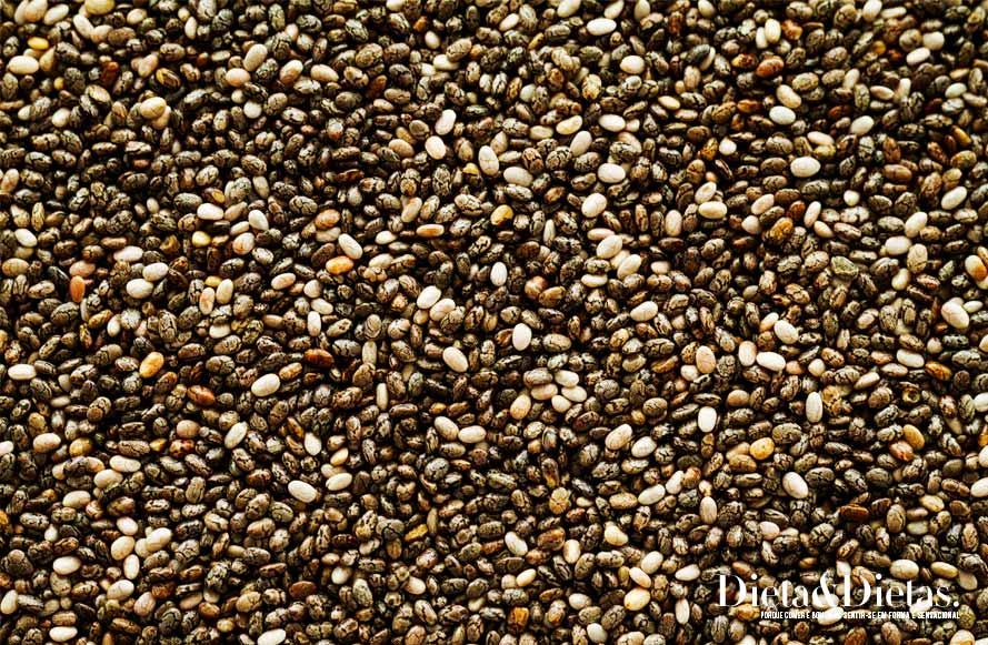 O papel da semente de chia contra a doença do diabetes