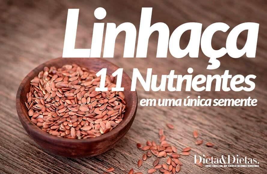 Semente de Linhaça, Veja 8 Nutrientes que Você Pode Encontrar Juntos Nesta Única Semente