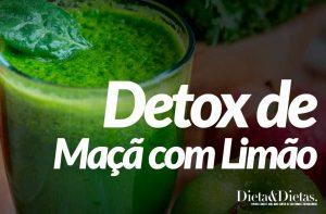 Detox de Maçã com Limão, Desintoxique seu Organismo
