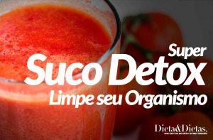 Suco Detox para Limpar seu Organismo por Completo