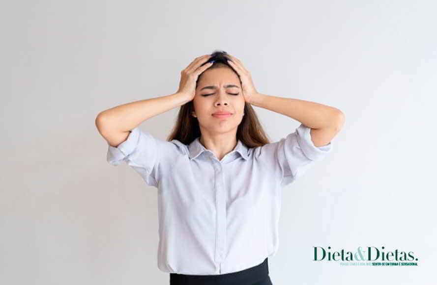Dor de cabeça é uma dor que perturba