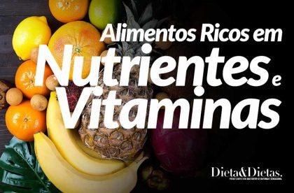 Alimentos Ricos em Nutrientes e Vitaminas que Você Encontra em Abundância