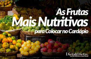 As 7 Frutas Mais Nutritivas para Colocar no Cardápio