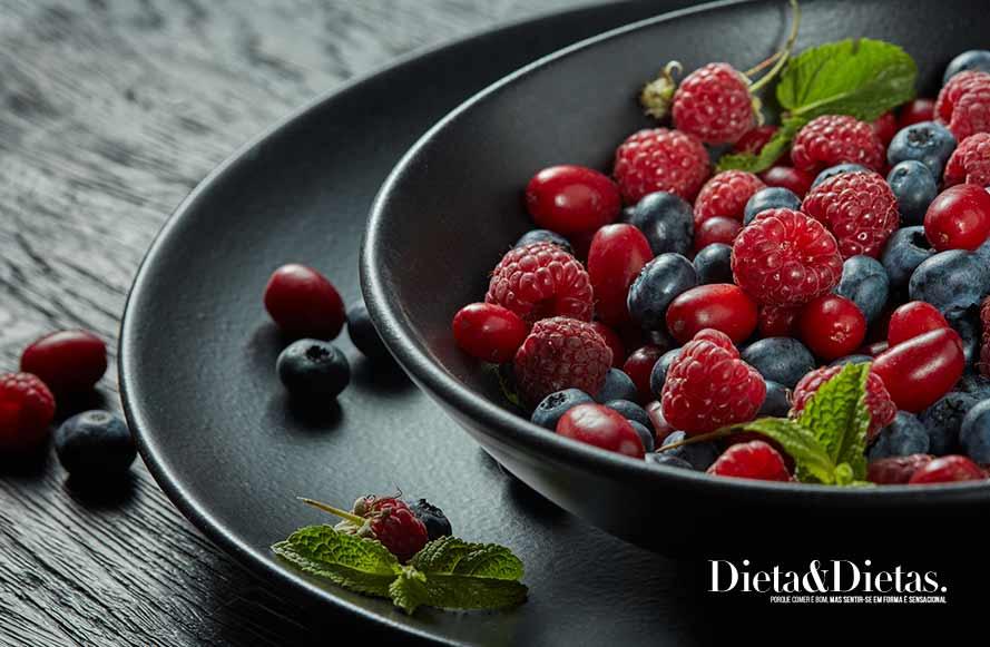 Frutas vermelhas contra o colesterol