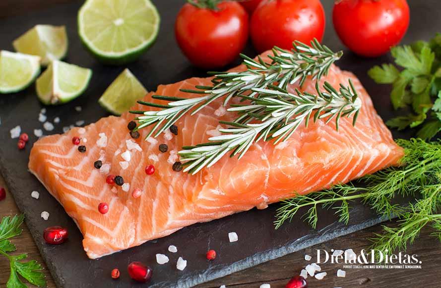 Peixes gordos contra o colesterol