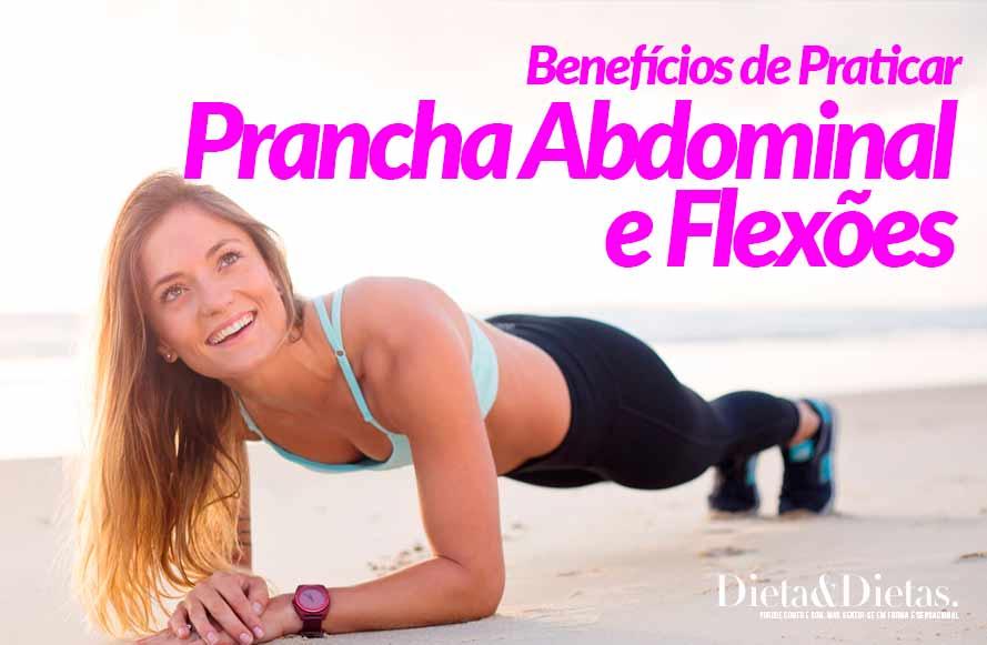 10 Benefícios de Praticar Prancha Abdominal e Flexões