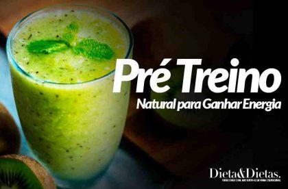Vitamina Pré Treino Natural para Ganhar Energia
