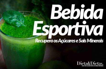 Bebida Esportiva que Recupera os Açúcares e Sais Minerais Perdidos com a Desidratação