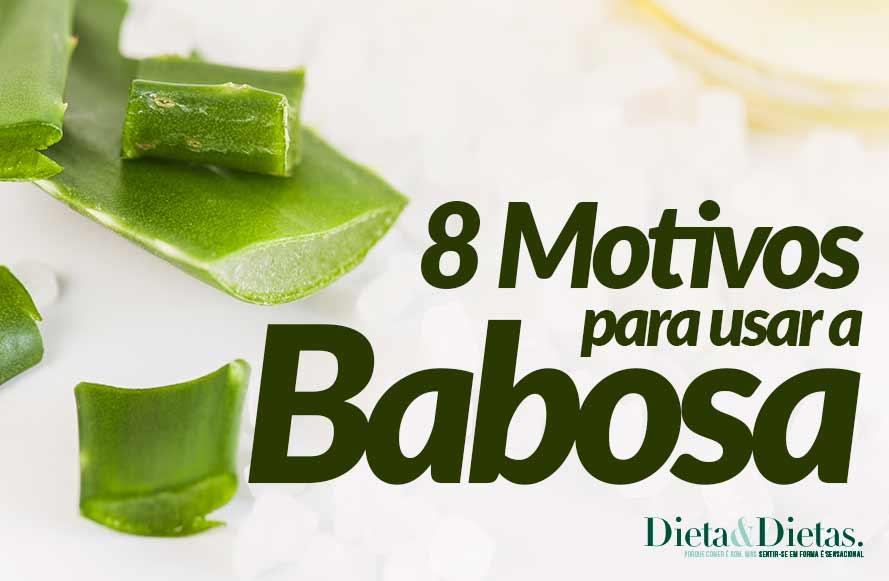 8 Motivos Para usar a Babosa em seu Dia a Dia