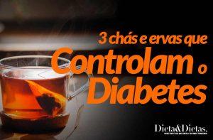 3 Chás e Ervas que Controlam o Diabetes