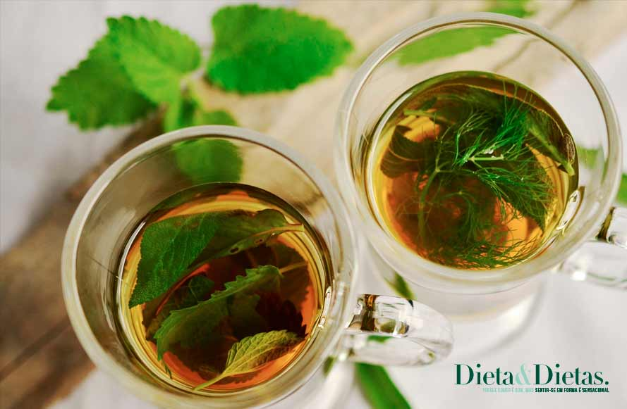 Chás e ervas para aliviar artrite e artrose