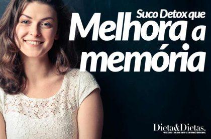 Suco Detox que Melhora a Memória