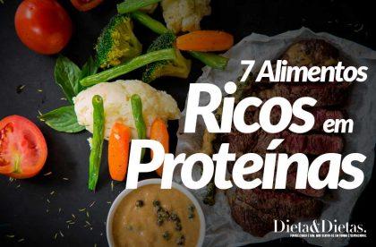 7 Alimentos Ricos em Proteínas