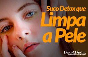Suco Detox que Limpa a Pele