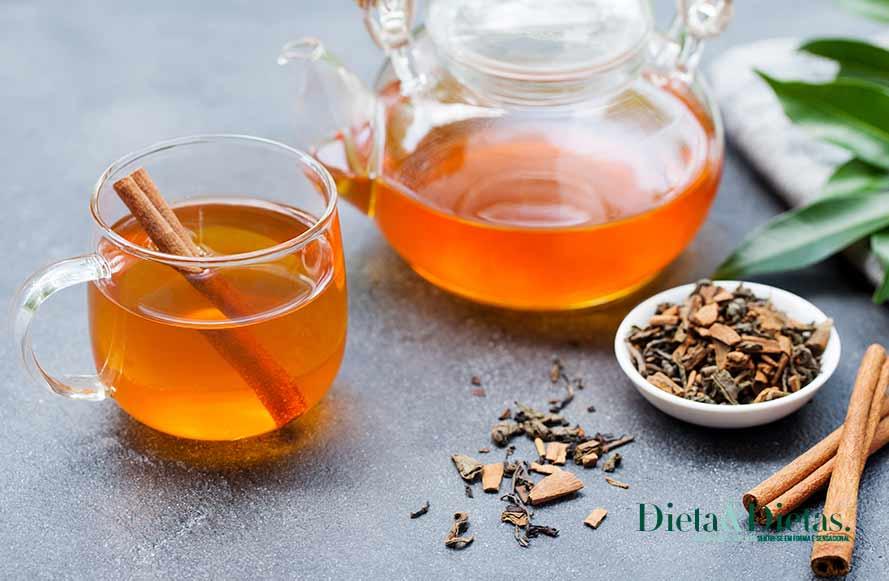 Chá de canela que seca barriga