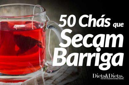 50 Chás para Perder a Barriga Rápido e Emagrecer