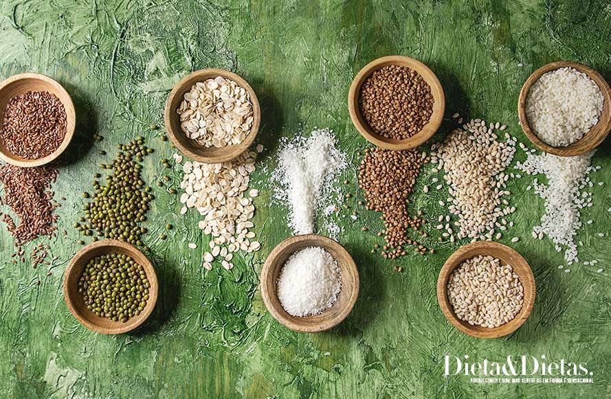 grãos são fontes de Magnésio