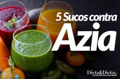 5 Sucos Digestivos que acabam com a Azia e a Queimação do Estômago