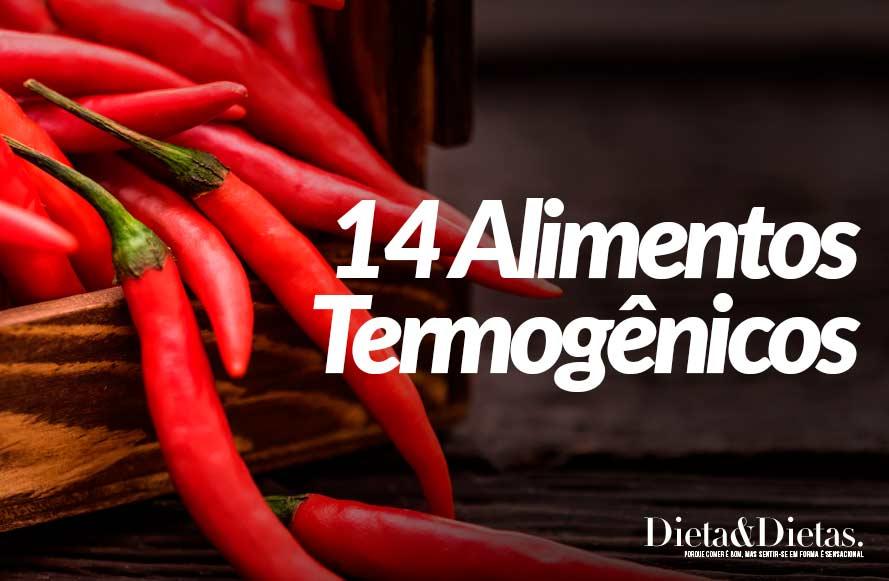 14 Alimentos Termogênicos que Derretem a Gordura do Corpo