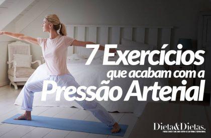 7 Exercícios Fáceis de fazer em Casa para Acabar com a Pressão Arterial